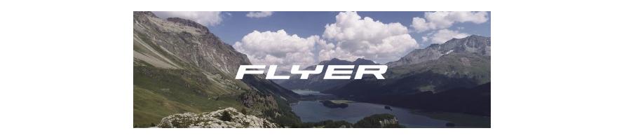 Toute la gamme de VTT à assistance électrique du fabricant  FLYER