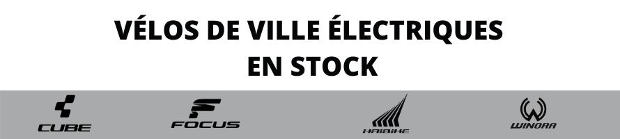 VTC / VELOS DE VILLE A ASSISTANCE ELECTRIQUE