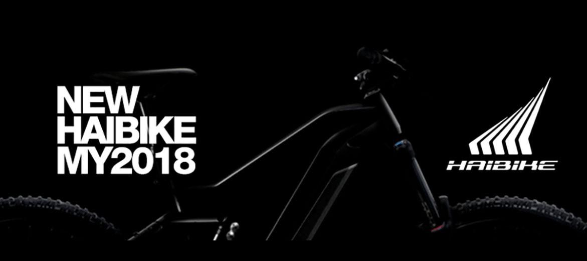 Toute la gamme de VAE HAIBIKE 2018 !